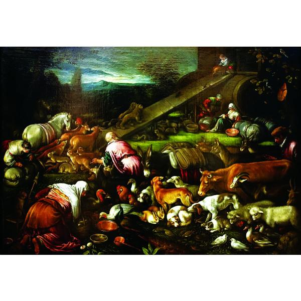 Building Noah's Ark Francesco Bassano, 1670